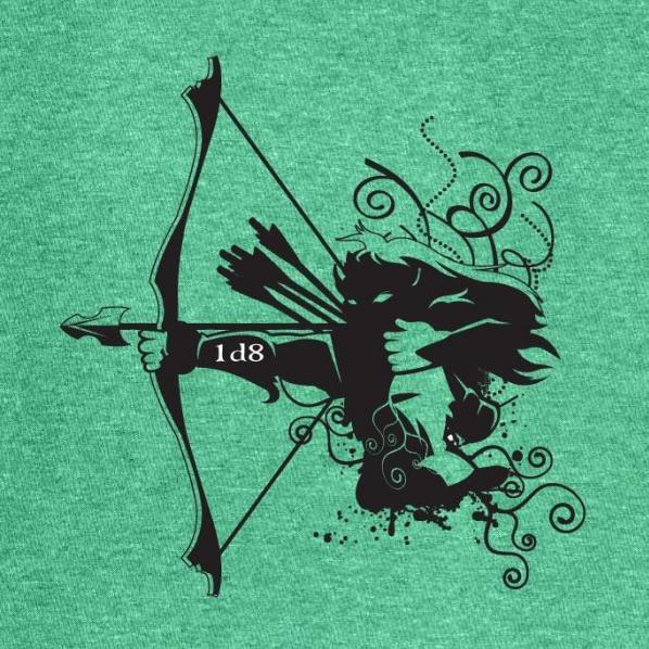 Gamer Shirts: Archer (Medium)