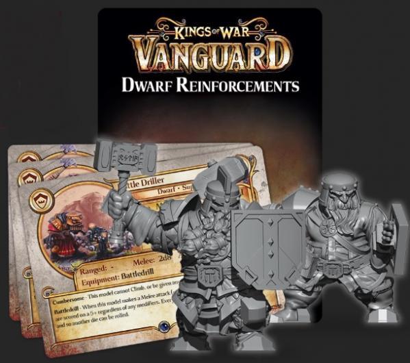 Kings Of War Vanguard: Dwarf Reinforcements Pack