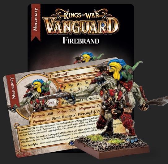 Kings Of War Vanguard: Firebrand Mercenary Booster