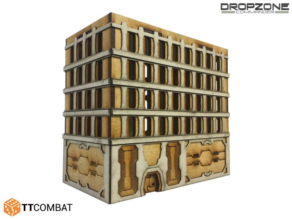 15mm Terrain: Sci-fi X - Utopia Building