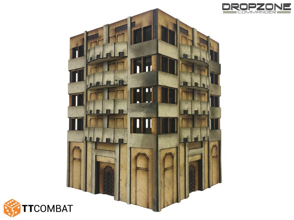15mm Terrain: Sci-fi X - Lanux Apartments