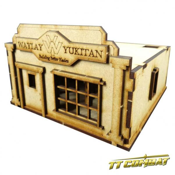 28mm Terrain: Old Town Scenics - Store A (Waylay Yukitan Blade Store)