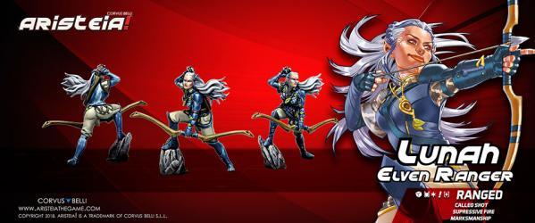 Aristeia!: Lunah ''Elven Ranger'' (1)