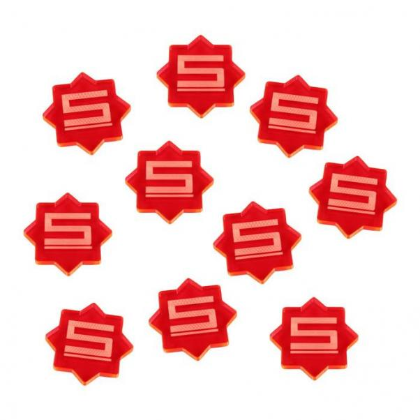 Forged Key: (Accessory) 5-Damage Tokens (Fluorescent Pink) (10)