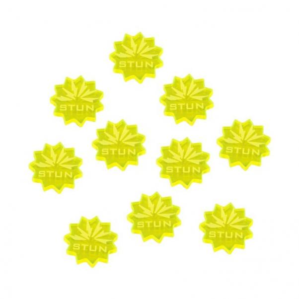 Forged Key: (Accessory) Stun Tokens (Fluorescent Yellow) (10)