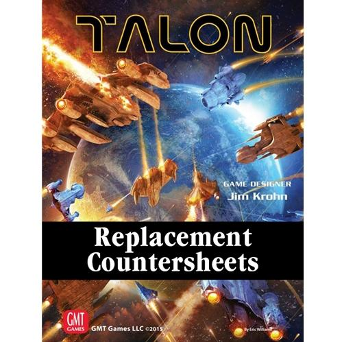 Talon: Base Game Replacement Counter Sheets