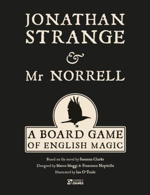 [Osprey Games] Jonathan Strange & Mr Norrell: A Board Game of English Magic