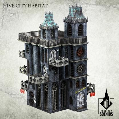 Kromlech Tabletop Scenics: Hive City Habitat