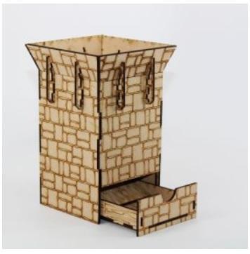 Laser Craft Workshop MDF Terrain: The Dice Tower