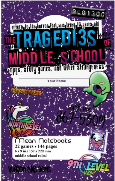 The Tragedies of Middle School RPG Anthology (HC)