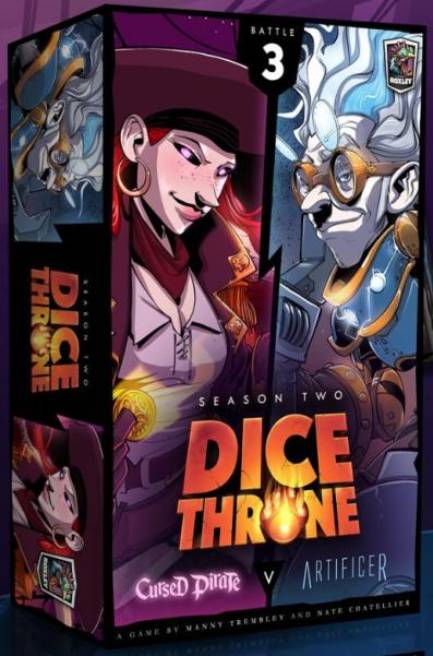 Dice Throne: Season Two Box 3 Cursed Pirate VS Artificer