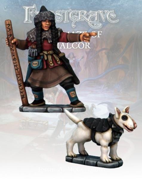 Frostgrave: Tracker & Warhound II