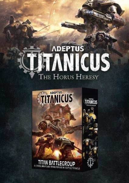 WH40K: Adeptus Titanicus - Titan Battlegroup