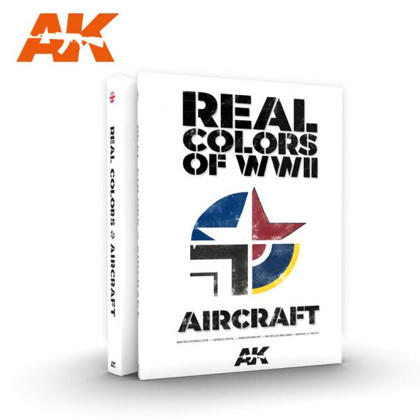 AK-Interactive: Real Colors of WWII for Aircraft Book
