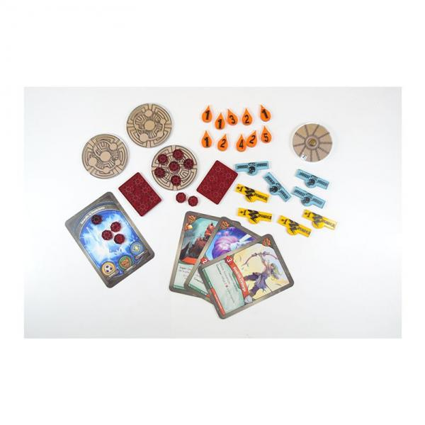 Game Accessories: Keyforge Compatible Token Set (Silver)