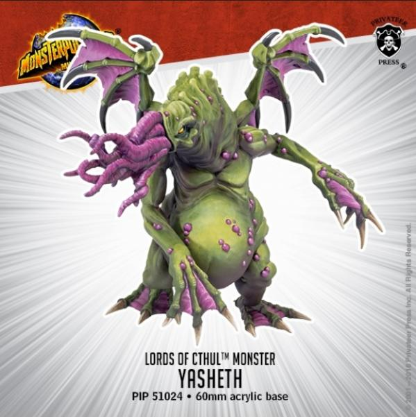 Monsterpocalypse: Yasheth - Lords of Cthul Monster (resin)