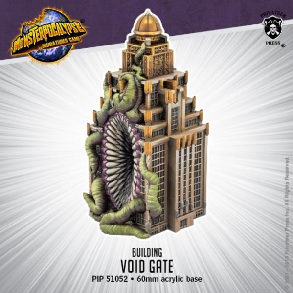 Monsterpocalypse: Buildings - Void Gate (resin)