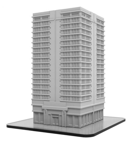 Monsterpocalypse: Buildings - Apartment Building (resin)