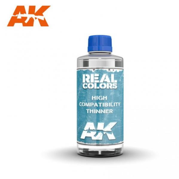AK-Interactive: Real Colors Auxiliary - Thinner 200ml