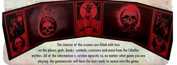 Lorecrafter GM Screen: Unspeakable Tomes Doom Edition