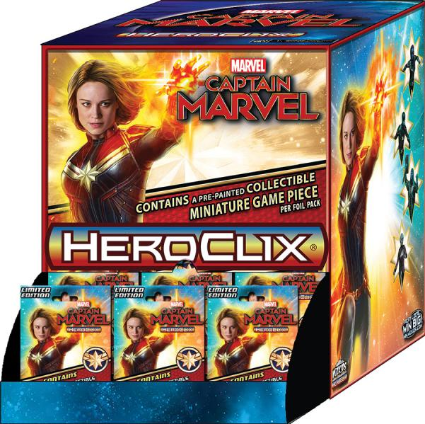 Marvel HeroClix: Captain Marvel Movie Booster Pack (1)