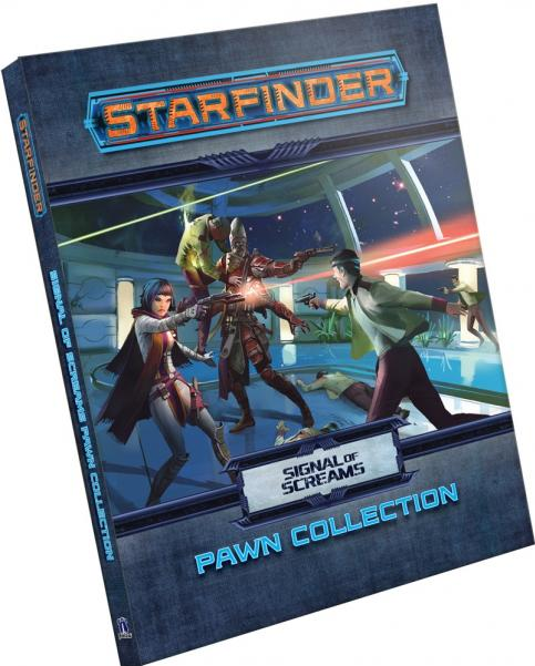 Starfinder RPG: Pawns -  Signal of Screams Pawn Collection