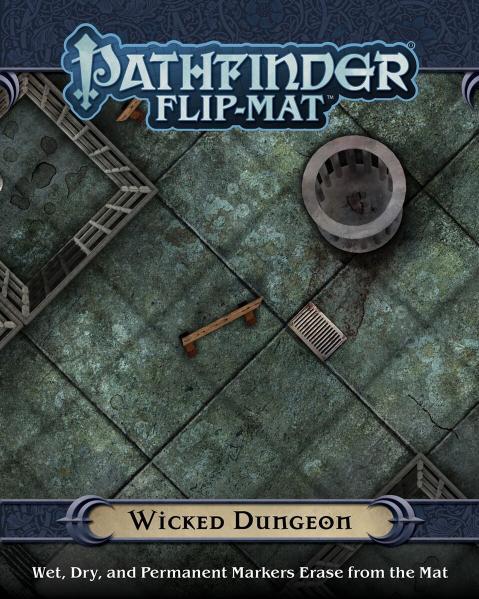 Pathfinder RPG: (Flip-Mat) Wicked Dungeon
