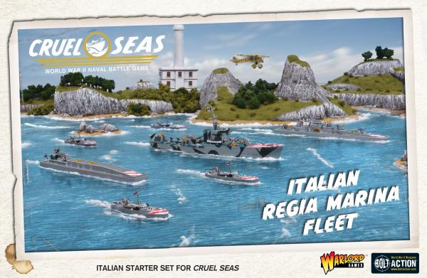 Cruel Seas: Italian Regio Marina Fleet