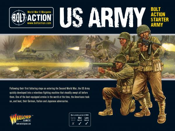 Bolt Action: US Army Starter Army