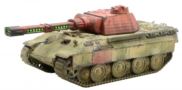 Bolt Action (Konflikt '47): Panther-X with Heavy Rail Gun