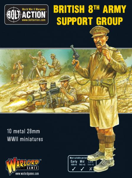 Bolt Action: British 8th Army Support Group