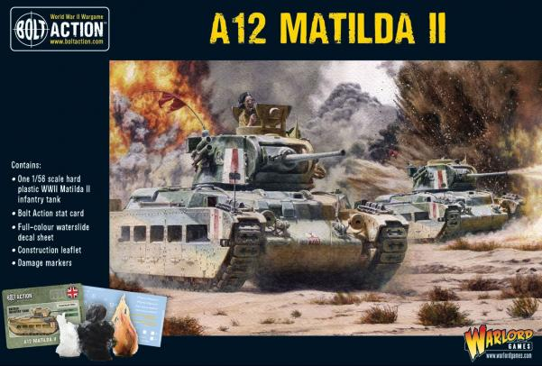 Bolt Action: A12 Matilda II Infantry Tank