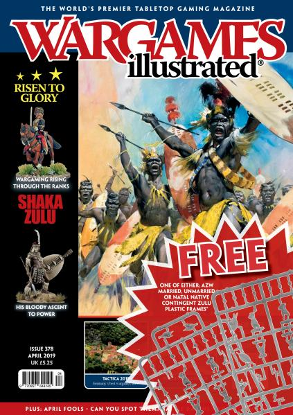 Wargames Illustrated Magazine #378 (w/free plastic Warlord