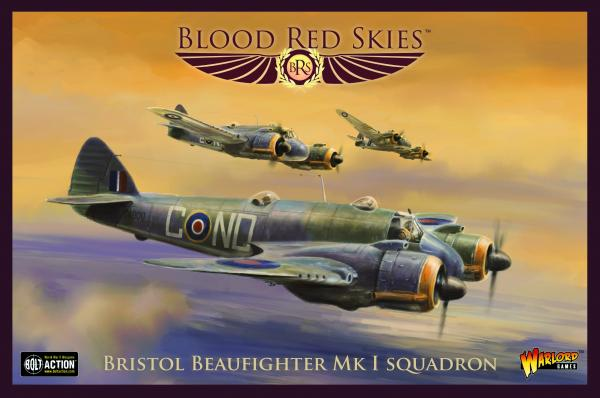 Blood Red Skies: Bristol Beaufighter Squadron (metal)