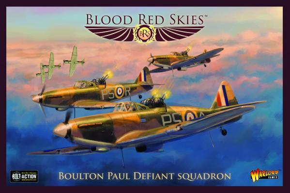 Blood Red Skies: Boulton Paul Defiant Squadron (metal)