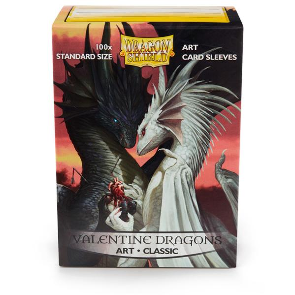 Dragon Shield Art Sleeves: Standard - Valentine Dragons (100 ct.)
