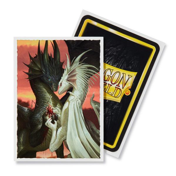 Dragon Shield Art Sleeves: Standard - Valentine Dragons (100 ct.)