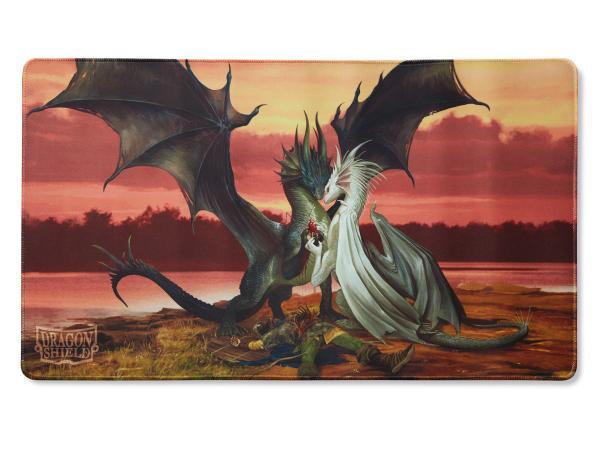 Dragon Shields: Playmat - Valentine Dragons