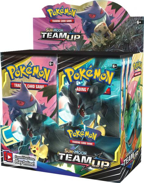 Pokemon CCG: Sun & Moon 9 Team Up Booster Pack (1)