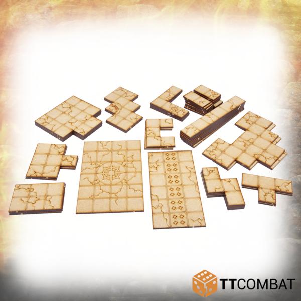 28mm Terrain: Dungeon Tiles Set C