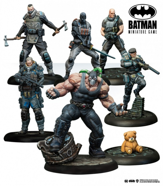 Batman Miniature Game: Bane - Venom Overdrive Bat Box Set