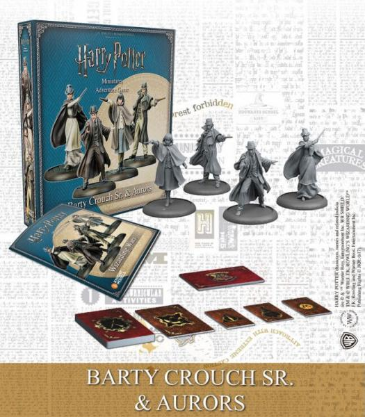 Harry Potter Miniature Game: Barty Crouch Sr. & Aurors Box Set