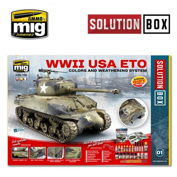 AMMO: WWII American ETO Solution Box