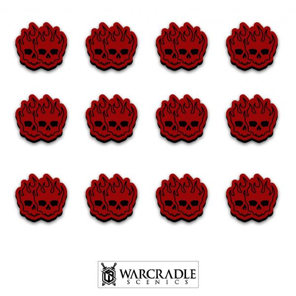 Miniature Accessories: Knightspire Double Wound Tokens