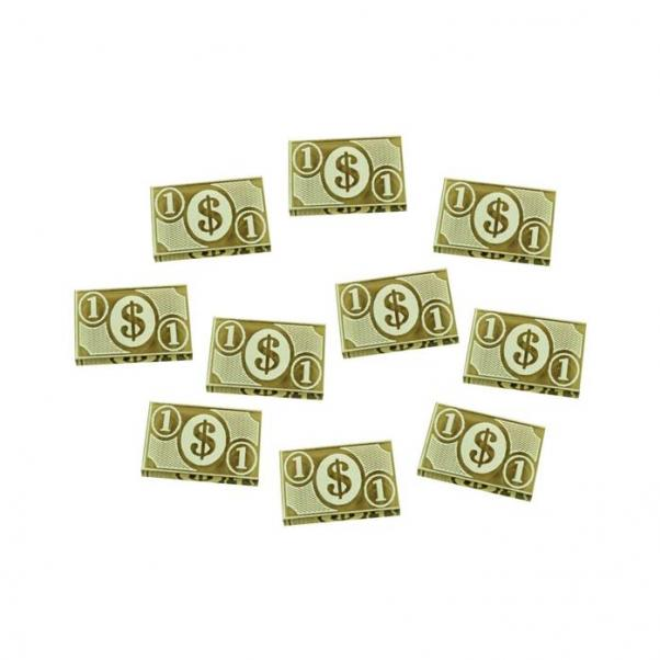 Arkham Horror: (Accessory) 1-Dollar Tokens - Transparent Bronze (10)