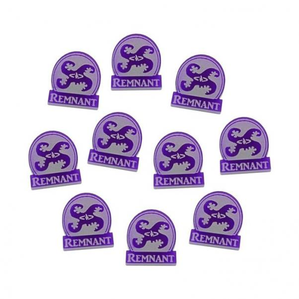Arkham Horror: (Accessory) Remnant Tokens - Purple (10)