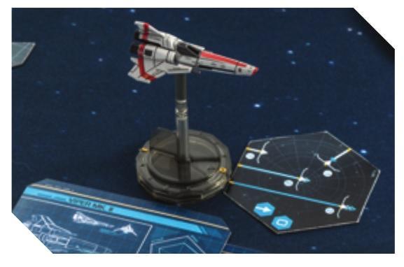 Battlestar Galactica: Spaceship Pack - Viper MK. II
