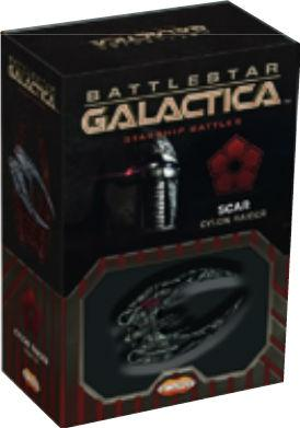 Battlestar Galactica: Spaceship Pack - Scar's Cylon Raider