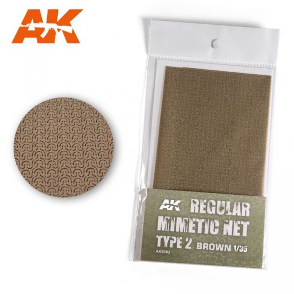 AK-Interactive: (Accessory) Camouflage Mimetic Net type 2 - Sand