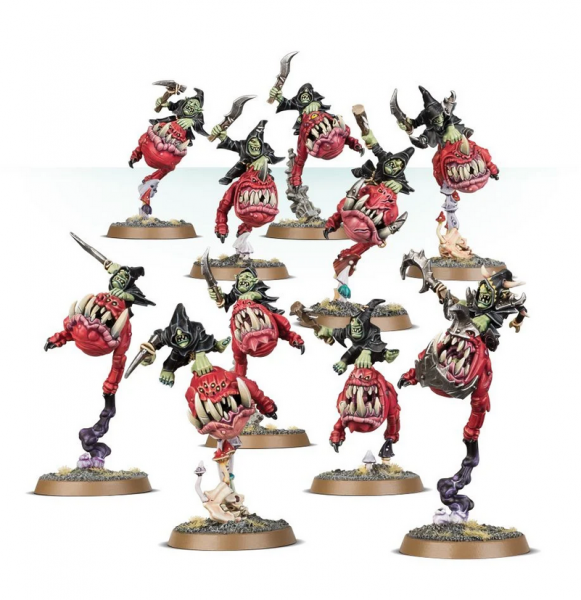 Age of Sigmar: Gloomspite Gitz Squig Hoppers